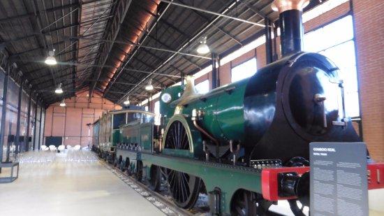 Entroncamento, Portugal: tren real