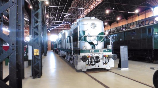 Entroncamento, Portugal: locomotora alco
