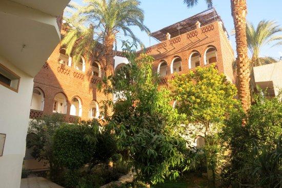 Hotel Sheherazade: Innenhof