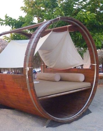 Hotel Rigakis: Quirky Seating