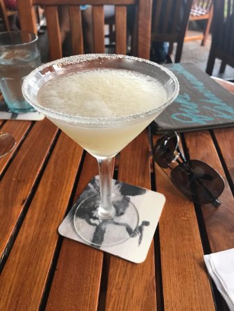 Duke's Kauai: coconut martini