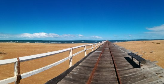 Carnarvon, Australia: One Mile Jetty