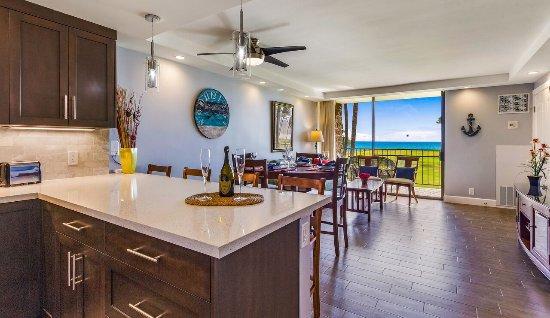 كاوهيل ماكاي - ماوي كوندو آند هوم: Kitchen-Dining-Living Room Suite 234