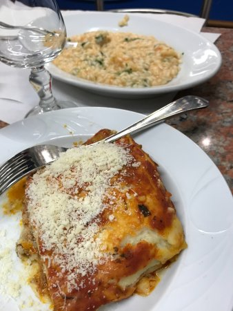 Rosticceria Gislon: Risotto and Lasagne