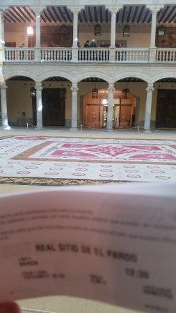Palacio Real de El Pardo: PALACIO DE EL PARDO - Patio interior - 2017-11