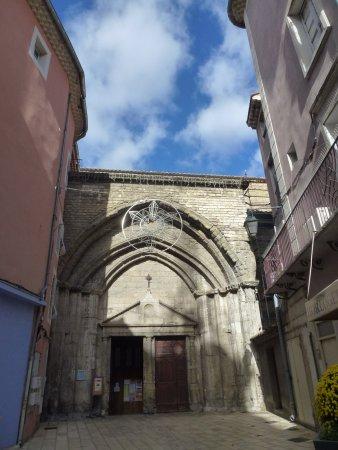Orange, Frankreich: Entrée discrète de la cathédrale