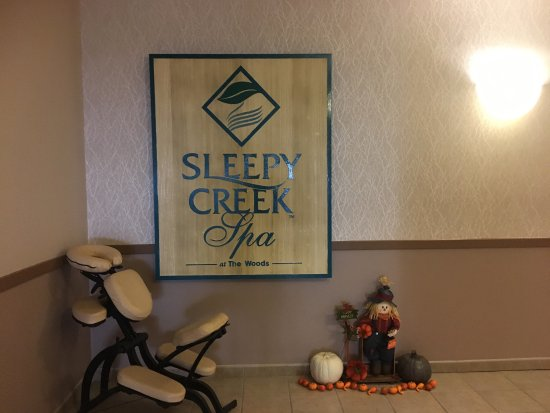 Hedgesville, Virgínia Ocidental: Sleepy Creek Spa