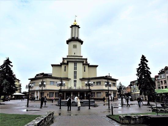 Ivano-Frankivsk, Ucrânia: Ивано-Франковск. Ратуша.