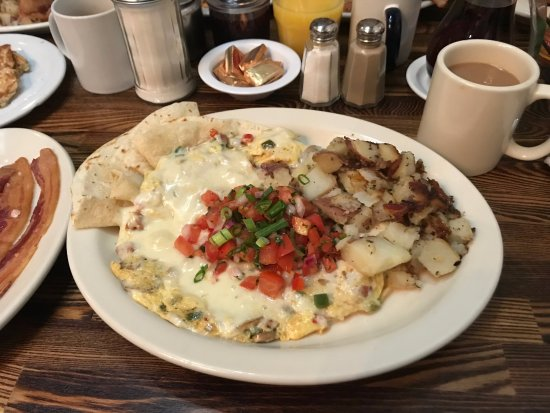 Dottie's True Blue Cafe : Southwestern Breakfast