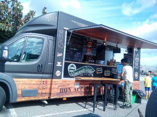 Cabestany, France: El camion