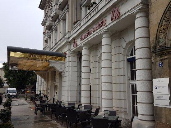 Hotel Fürstenhof, a Luxury Collection Hotel, Leipzig: Outdoor seating