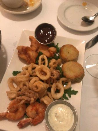 Saratoga, CA: seafood mix