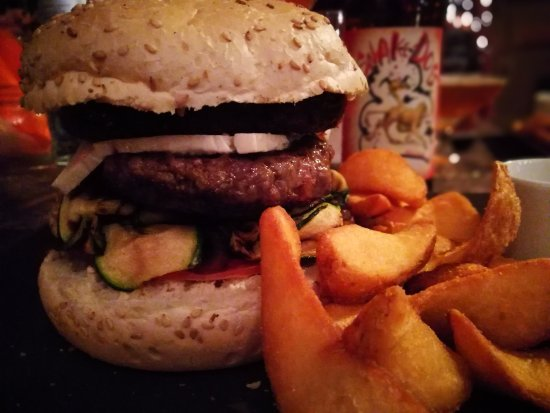 Cerro Maggiore, Italy: hamburger