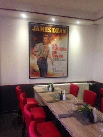 Bad Honnef, Tyskland: Blick ins Restaurant