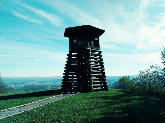 Hillsboro, WV: Droop Mountain Tower