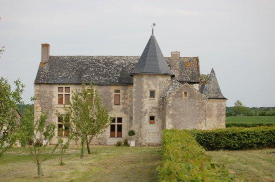 Maine et Loire, Frankrig: un manoir du 16eme siècle en Anjou à proximité de la Vallée de Loire