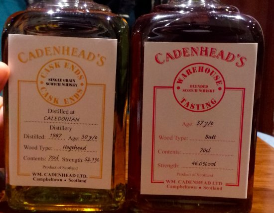 Campbeltown, UK: From the cask