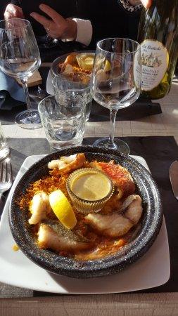 Erquy, France : Couscous de Tajine de Poissons