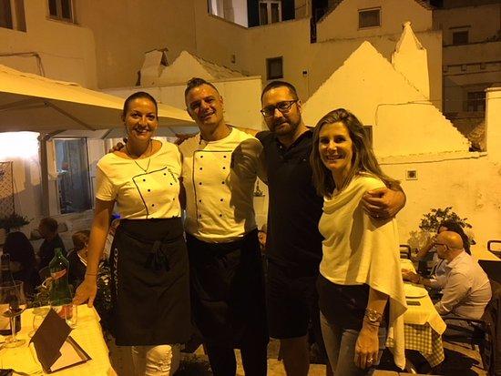 Osteria del Coco Pazzo da Stefano: Comida maravilhosa e muito carinho dos proprietários!