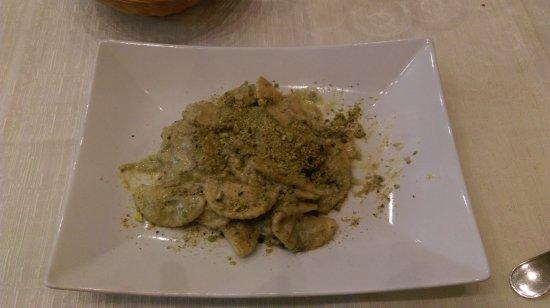 Bronte, Italy: Ravioli al PIstacchio