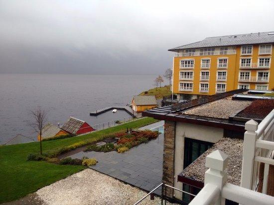 Osoyro, Norwegen: View from the junior suite