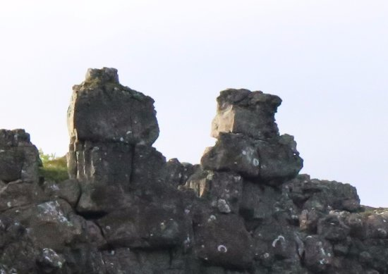 Thingvellir, Islandia: Nice Rock Formation