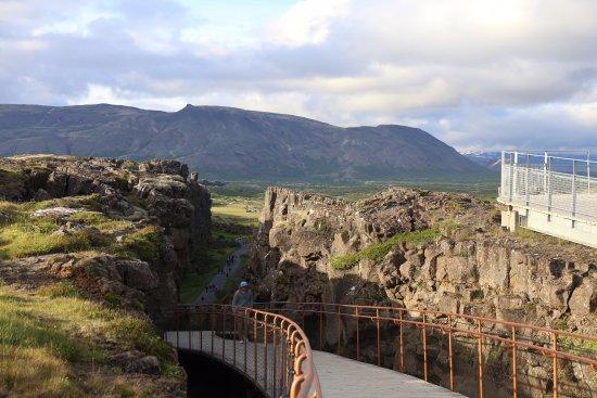 Thingvellir, Islandia: Continental Divide