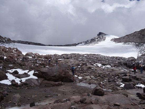 Santa Rosa de Cabal, Kolumbia: Borde de glaciar del Nevado de Santa Isabel