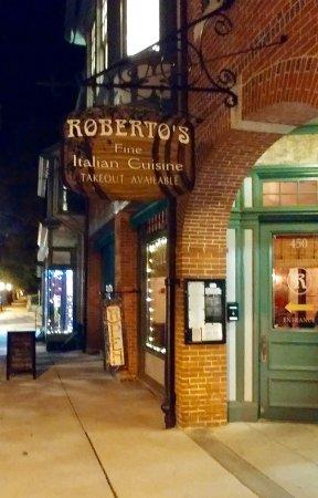 Bristol, RI: Roberto's Italian Restaurant