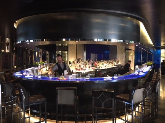 Hakkasan San Francisco: The bar for drinking and eating as well