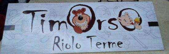 Riolo Terme, Italia: menù