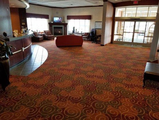 Marshalltown, Айова: Spacious Lobby
