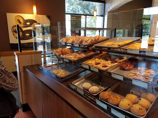 Elk Grove, CA: Close-up of the fresh and delicious pastries offered at Panera Bread
