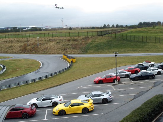 Porsche Experience Center >> Lining The Cars Up Sits Right Next Store To The Airport