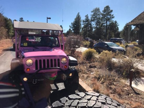 Tusayan, AZ: These are clean, well-maintained Jeeps