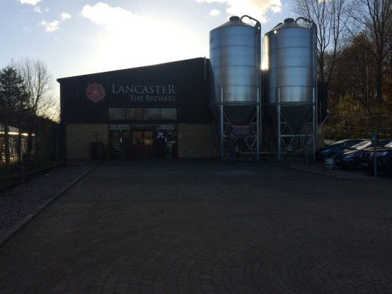 Lancaster, UK: Sunny day at the brewery