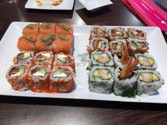 Planet sushi aix en provence 4 avenue des belges for Koi sushi aix en provence
