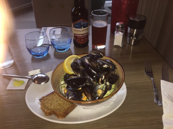 Bantry, Irland: Mussels, mussels, mussels!
