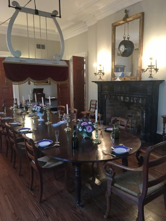 Vacherie, LA: Dinning Room in the Big House
