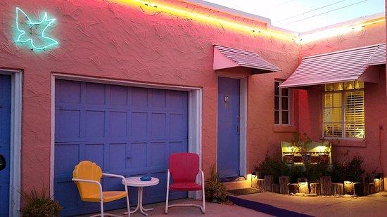 Tucumcari, Nuevo México: Blue Swallow Motel