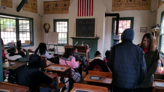Coshocton, OH : Inside the school house