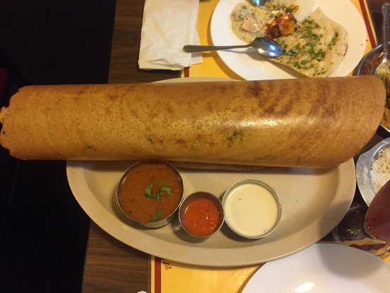 Lauderhill, FL: This is probably the best dosa I have ever had!
