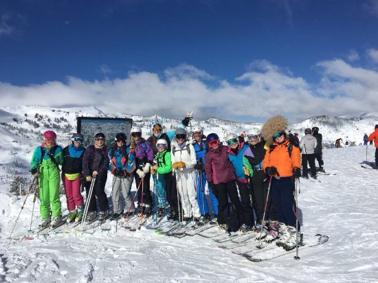 Olympic Valley, CA: Great Views & Terrain up top! DBSC 2017