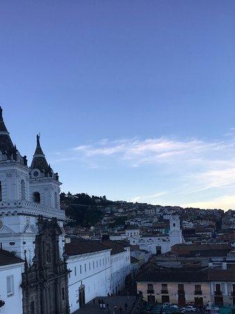 Casa Gangotena: View of Plaza San Francisco