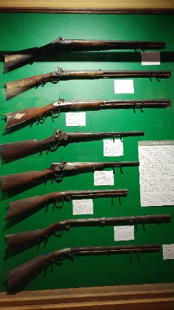 Bennington, VT: Antique firearm collection