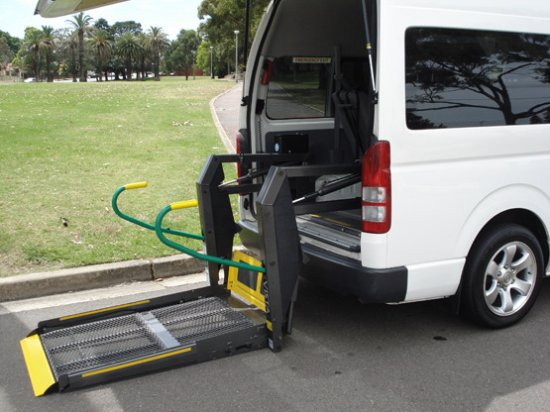 Rockdale, Australia: Wheelchair Accessible Van