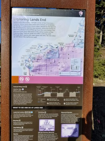 Map of Lands End Trail