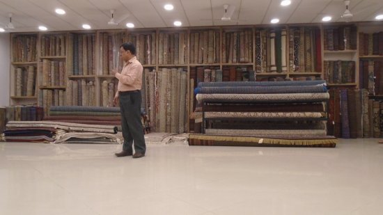 Carpet Showroom Picture Of Jaipur Handicrafts Jaipur Tripadvisor