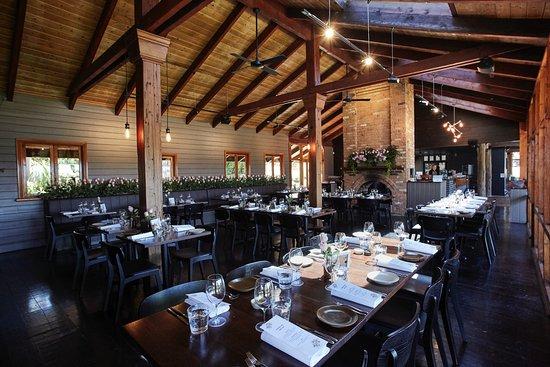 Yarra Valley, Australia: Dining room