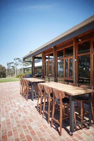 Yarra Valley, Australien: Outdoor bar seating